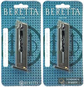 BERETTA 87 Cheetah MAGAZINE 2-PACK .22 LR 8 Rounds JM87