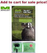 Meprolight GLOCK 9mm 357SIG 40SW 45GAP NIGHT SIGHTS Green/Orange ML-10224O - Add to cart for sale price!