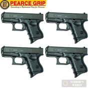 Pearce Grip GLOCK 26 27 33 39 Grip EXTENSION 4-PACK PG-26