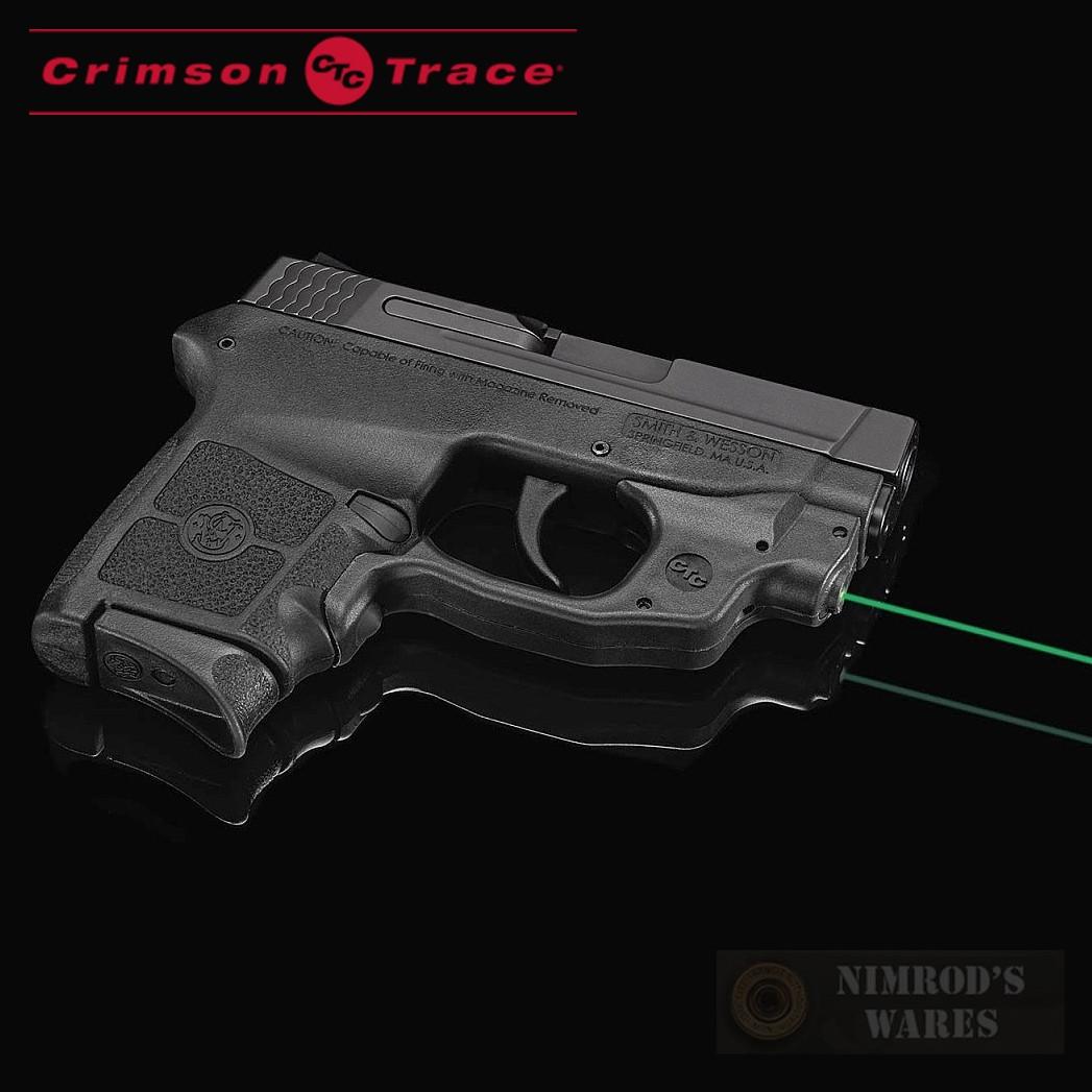 Crimson Trace S&W M&P BODYGUARD 380 GREEN LaserGuard Sight LG-454G