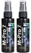 M-PRO 7 GUN CLEANER 4oz Spray Bottle 2-PACK 070-1002