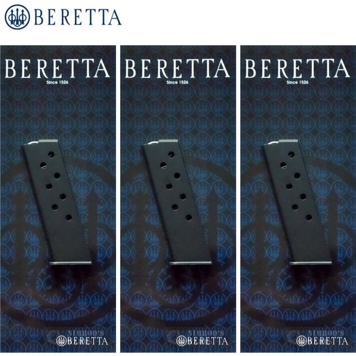 BERETTA Model 21 BOBCAT  25 ACP 8 Round MAGAZINE 3-PACK JM25