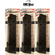 Chip McCormick 1911 COMBAT Power .45 ACP 10 Round Magazine 3-PACK 16150-C