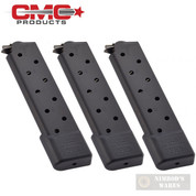 Chip McCormick 1911 .45 ACP 10 Round COMBAT Power MAGAZINE 3-PACK M-PM-45FS10B