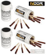 NDuR SURVIVAL MATCHES Windproof Waterproof 4-pk 21060