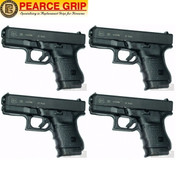 Pearce Grip GLOCK 30 G30 Grip Extension 4-PACK PG-30 Add Control & Comfort