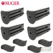 Ruger SR22P Mag-10 .22 Caliber Magazine 4-PACK w/ Extensions 90382