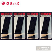 Ruger LC9 LC9S 9mm 7-Round Magazine 4-PACK 8 x Floorplates 90363