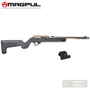 MAGPUL X-22 BACKPACKER STOCK + Optic MOUNT for Ruger 10/22 TakeDown MAG808-GRY MAG799-BLK
