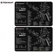 """TekMat RUGER MK IV MK 4 Armorer BENCH MAT 2-PACK 11""""x17"""" 17-RUGERMK4"""