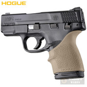 HOGUE S&W M&P SHIELD 45 Kahr P9 P40 CW9 CW40 GRIP SLEEVE 18303 FDE