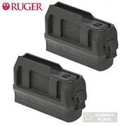 RUGER American .450 Bushmaster 3 Round MAGAZINE 2-PACK 90633