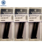 S&W Smith & Wesson 41 422 622 2206 .22 LR 10 Round MAGAZINE 3-PACK 19050
