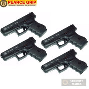 Pearce Grip GLOCK 36 G36 Grip Finger EXTENSION 4-PACK PG-360