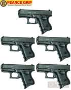 Pearce Grip GLOCK 26 27 33 39 Grip EXTENSION 5-PACK PG-26