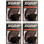 X-Grip GL2627 4-PACK Use Glock 17 22 31 Full-Size Magazine in Glock 26 27 33
