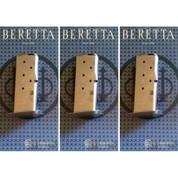 Beretta BU9 Nano 9mm 6rd MAGAZINE 3-PACK JM6NANO9 Stainless Steel OEM