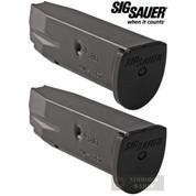 SIG SAUER P250 P320 .40SW .357SIG 10 Round MAGAZINE 2-PACK MAG-MOD-F-43-10