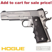 HOGUE 1911 Government Rubber GRIP Finger Grooves 45000 - Add to cart for sale price!