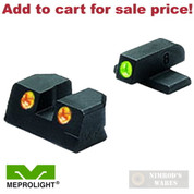 Meprolight SIG SAUER P-Series 9mm .357SIG NIGHT Sights SET ML-10110O - Add to cart for sale price!