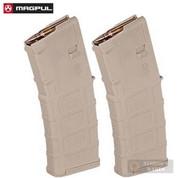 MAGPUL PMAG 30 Gen M3 AR15 M4 .223 5.56x45mm 30 Round Magazine 2-PACK SAND MAG557-SND