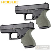 HOGUE GLOCK 42 43 G42 G43 + MORE! GRIP SLEEVE 2-PACK OD Green 18201 - Add to cart for sale price!