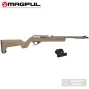 MAGPUL X-22 BACKPACKER STOCK + Optic MOUNT for Ruger 10/22 TakeDown MAG808-FDE MAG799-BLK