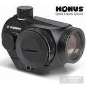 KONUS SightPro ATOMIC 2.0 Red/Green DOT SCOPE 4 MOA w/ Mount 7200