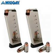 Mec-Gar 1911 Government .45ACP 8 Round MAGAZINE 2-PACK FLUSH MGCG4508NPF