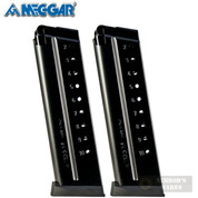 Mec-Gar 1911 9mm 10 Round MAGAZINE 2-PACK FLUSH MGCGOV910AFC