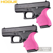 HOGUE GLOCK 42 43 G42 G43 + MORE! GRIP SLEEVE 2-PACK PINK 18207