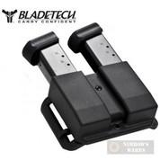 Blade-Tech REVOLUTION Double MAG POUCH 9mm .40S&W Tek-Lok AMMX0054RDDS94BLKAMTL