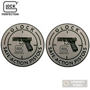 "GLOCK Safe Action SIGN 12"" Aluminum OEM AD00060 2-PACK"