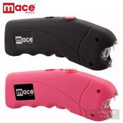 Mace STUN GUN 2-PACK 2.4 million VOLTS + LED Light + CASES BLACK + PINK 80323 / 80813 + 80324 / 80814