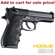 Hogue BERETTA 92 96 Series GRIP w/ Finger Grooves 92000 - Add to cart for sale price!