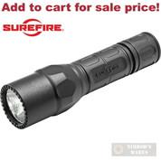 SUREFIRE G2X Tactical FLASHLIGHT 600 LUMENS G2X-C-BK - Add to cart for sale price!