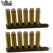 DeSantis .38 .357 Swift Strip SPEED LOADER 6 Rounds 2-pk T11BAZZZ0