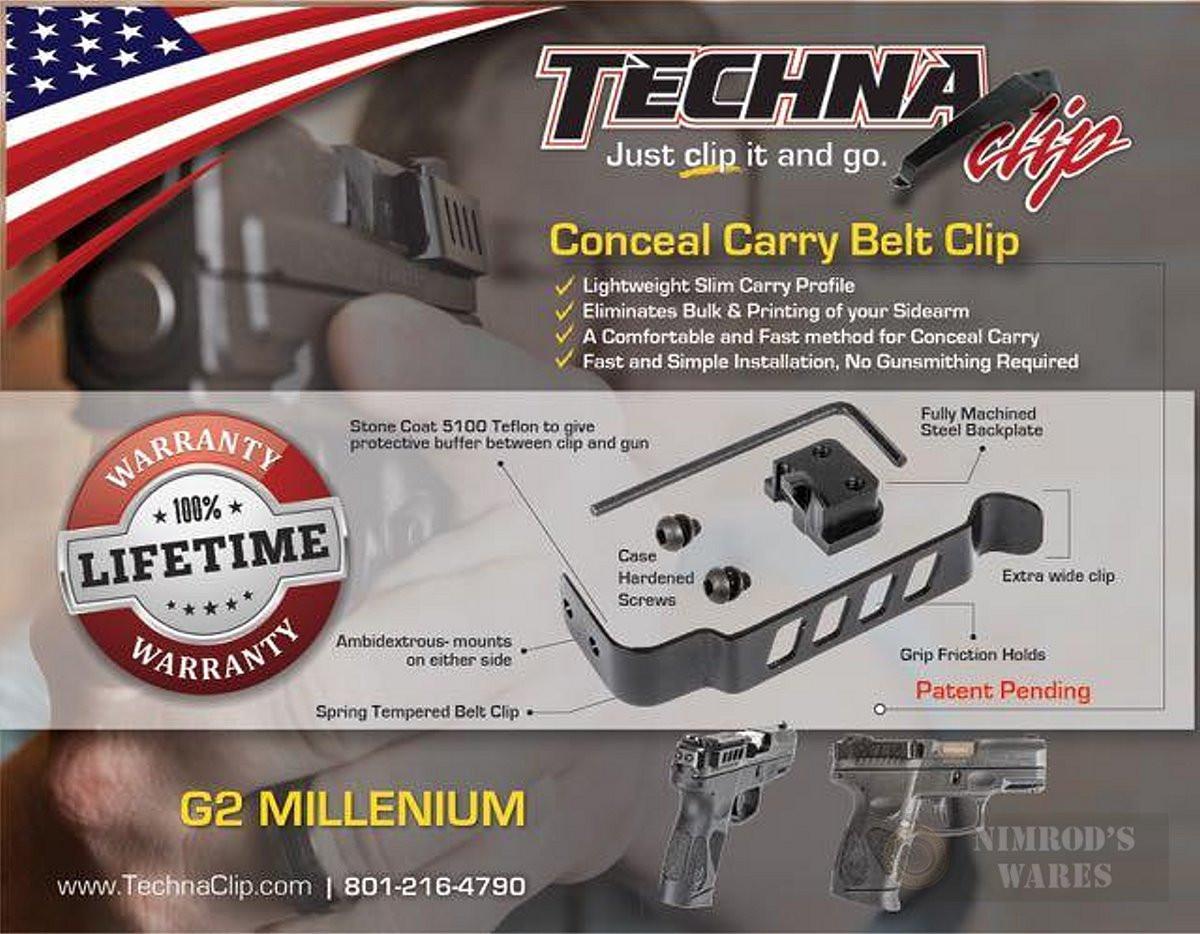 Techna Clip Taurus Pt111 G2 709 Slim Conceal Carry Ba Add Millennium 9mm Schematics Larger More Photos