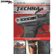 Techna GLOCK 43 G43 Belt CLIP IWB Conceal Carry Ambi G43-BRL - Add to cart for sale price!