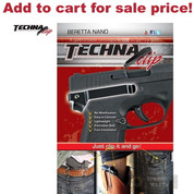 Techna BERETTA NANO Belt CLIP IWB Conceal Carry RH NABR - Add to cart for sale price!