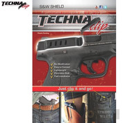 Techna Smith & Wesson SHIELD 9mm .40 Belt CLIP IWB Conceal Carry RH SHBR - Add to cart for sale price!