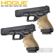 HOGUE 17003 FULL SIZE Universal Pistol/Handgun Grip Sleeve 2-PACK TAN
