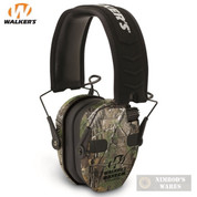 Walker's RAZOR SLIM QUAD EAR MUFFS NRR 23 RealTree GWP-RSEQM-CMO