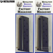 METALFORM 1911 Government 9mm 9 Round MAGAZINE 2-PACK 9293