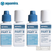 AQUAMIRA Water Treatment DROPS Kills Bacteria SURVIVAL 30 gal. 67202 2-PACK