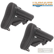 LIMBSAVER .223 5.56 6-Position STOCK Recoil-PAD 2-PACK Snap-On 10019