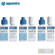 AQUAMIRA Water Treatment DROPS Kills Bacteria SURVIVAL 30 gal. 67202 3-PACK