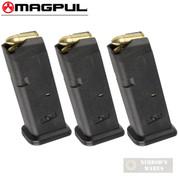 MAGPUL 10 GL9 GLOCK 19 26 9mm 10 Round MAGAZINE 3-PACK MAG907-BLK