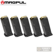 MAGPUL 10 GL9 GLOCK 19 26 9mm 10 Round MAGAZINE 5-PACK MAG907-BLK