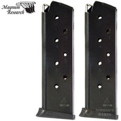 Magnum Research Desert Eagle .45 ACP 8 Round MAGAZINE 2-PACK MAG1911-458